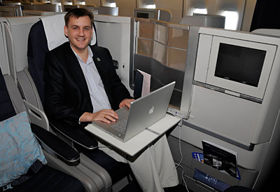British Airways - Business Class - Thorsten Bührmann