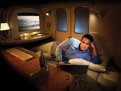Emirates Airlines - First Class Suite