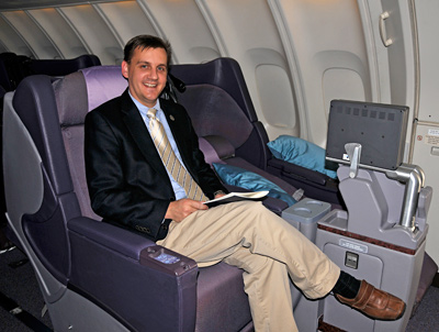 Singapore Airlines - Business Class - Thorsten Buehrmann