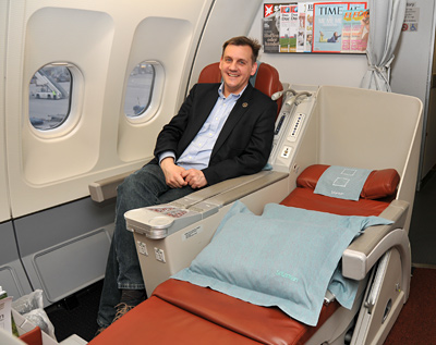 Thorsten Bührmann - SriLankan Airlines - Business Class