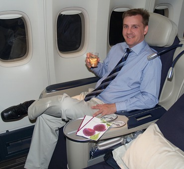 Air France - Business Class - Thorsten Buehrmann
